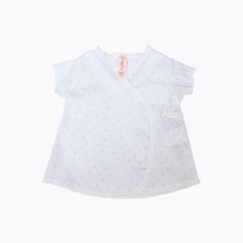 camisa cruzada bebé