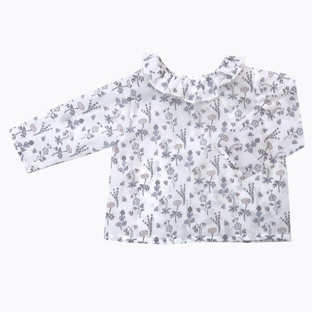 camisa manga larga bebé