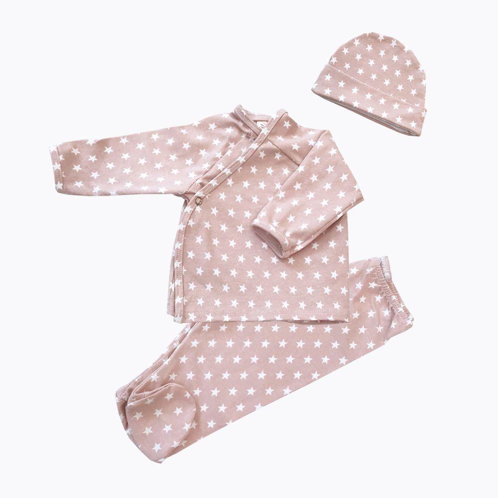 Pijama Y Gorro Stars Nude