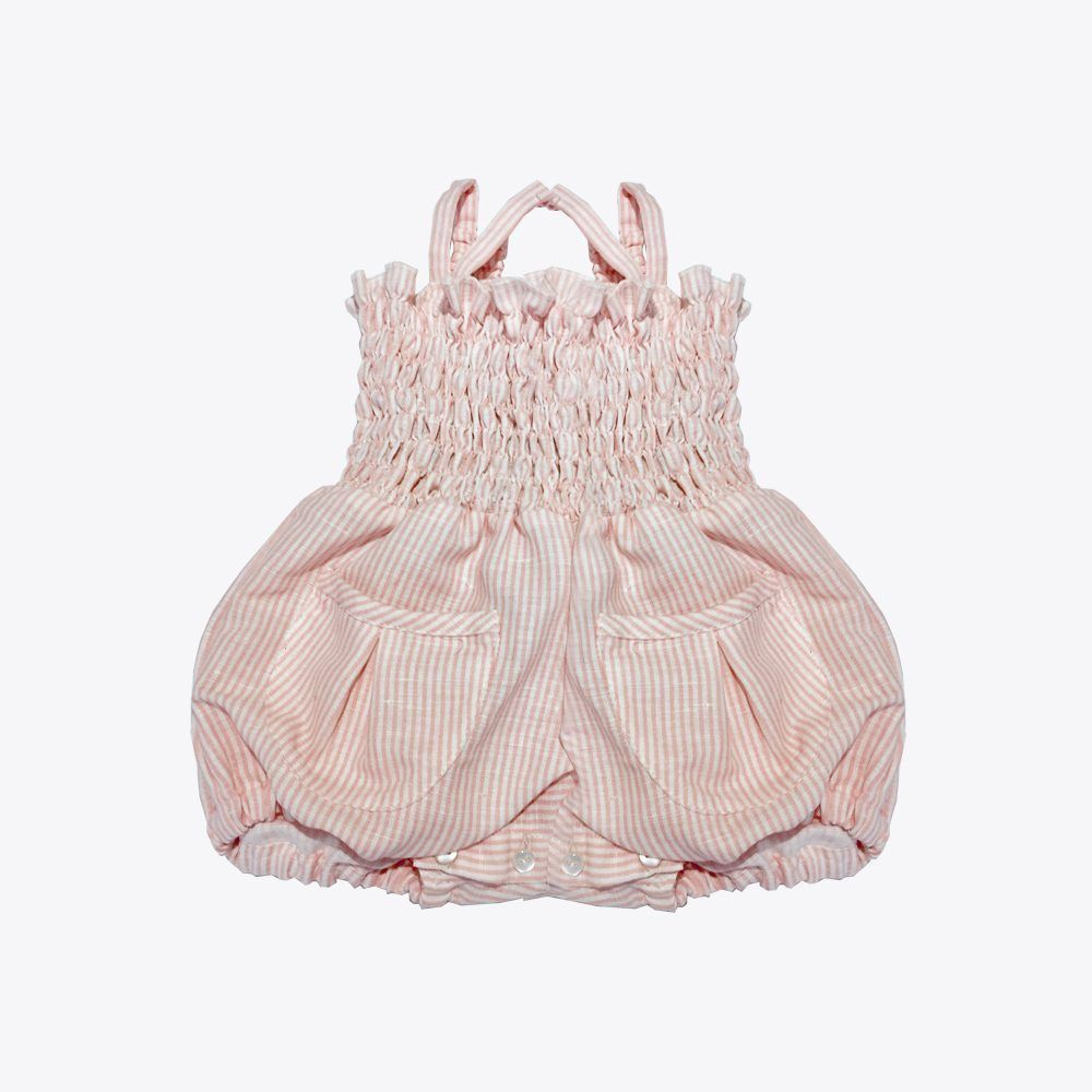 mono rosa bebé