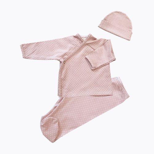 Pijama Y Gorro Dot Nude