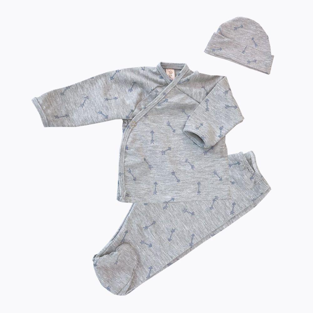 Pijama Y Gorro Hood Blue